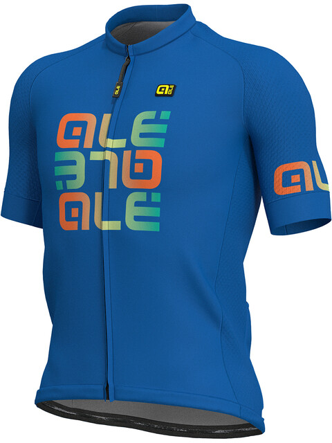 Alé Cycling Solid Mirror Bike Jersey Shortsleeve Men blue/colourful